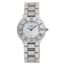Cartier 21 Must de Cartier Steel 31mm Silver No numerals