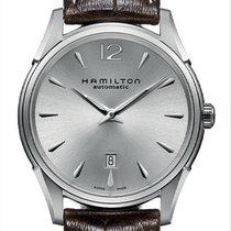Hamilton Jazzmaster Slim Acier 43mm Argent