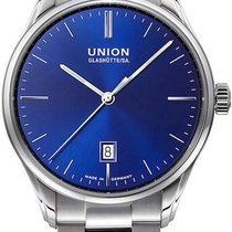 Union Glashütte Viro 41mm Blue