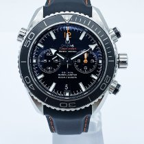 Omega Seamaster Planet Ocean Chronograph Acier Noir France, Paris