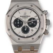 Audemars Piguet Royal Oak Chronograph Steel 41mm Silver United States of America, New Hampshire, Nashua