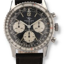 Breitling Navitimer Steel 40mm Black United States of America, New Hampshire
