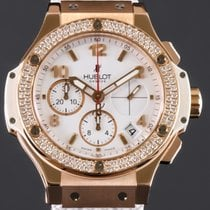 Hublot Big Bang 41 mm Or rose 41mm Blanc Arabes