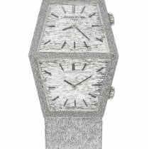Vacheron Constantin 1972 White gold 25mm Silver United States of America, New York