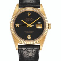 Rolex 16238 Or jaune 1989 Datejust 36mm