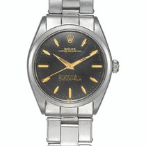 Rolex Acero Automático Negro 33mm Oyster Perpetual 34