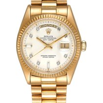 Rolex Day-Date 36 Yellow gold 36mm White United States of America, New York