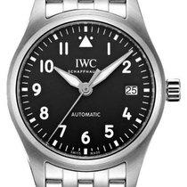 IWC Pilot's Watch Automatic 36 Stal 36mm Czarny Arabskie Polska, Warszawa