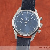 Zenith El Primero Original 1969 Acier 38mm Bleu