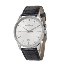 Jaeger-LeCoultre Master Ultra Thin Date pre-owned 40mm Silver Date