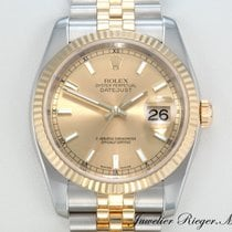 Rolex Lady-Datejust Or/Acier 36mm Or