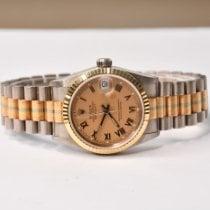 Rolex Ouro branco Automático Bronze 31mm usado Datejust