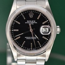 Rolex Oyster Perpetual Date Ατσάλι 35mm Μαύρο Ελλάδα, Athens