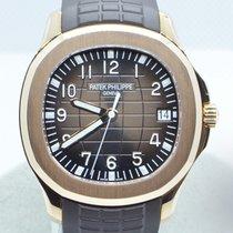Patek Philippe Aquanaut Pозовое золото 40mm Коричневый Aрабские