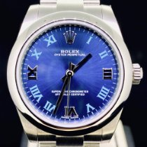Rolex Oyster Perpetual 31 Acier 31mm Bleu