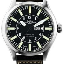 Ball Engineer Master II Aviator Steel 46mm Black