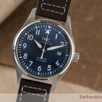 IWC Pilot Mark Stål 40mm Blå