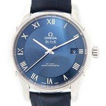 Omega De Ville Hour Vision nuevo Automático Reloj con estuche y documentos originales 433.13.41.21.03.001
