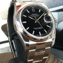 Rolex Datejust Zeljezo 36mm Crn
