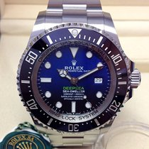 Rolex Sea-Dweller Deepsea Steel 44mm Blue No numerals United Kingdom, Wilmslow