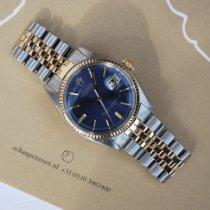 Rolex Datejust Goud/Staal 36mm Blauw Geen cijfers Nederland, Puttershoek