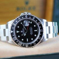 Rolex Acier Remontage automatique Noir Sans chiffres 40mm occasion GMT-Master II