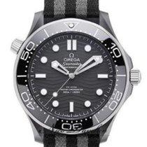 Omega Seamaster Diver 300 M Ceramic 43.5mm Black No numerals