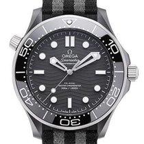 Omega Seamaster Diver 300 M Керамика 43.5mm Черный Без цифр