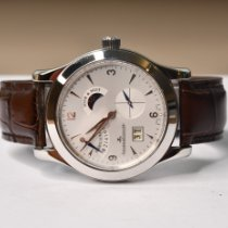 Jaeger-LeCoultre Master Control pre-owned 41.5mm Silver Crocodile skin
