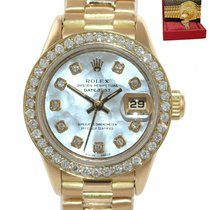 Rolex Lady-Datejust Yellow gold 26mm Mother of pearl United States of America, New York