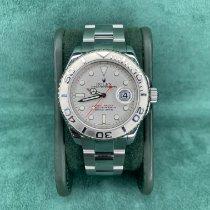 Rolex Yacht-Master 40 Steel 40mm Silver No numerals