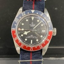 Tudor Black Bay GMT Acier 41mm Noir France, Menton