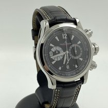 Jaeger-LeCoultre Master Compressor Chronograph Acero 41mm Negro Arábigos