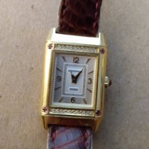 Jaeger-LeCoultre Yellow gold Manual winding White Arabic numerals pre-owned Reverso (submodel)