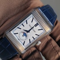 Jaeger-LeCoultre Reverso (submodel) Steel 49.4mm Silver No numerals
