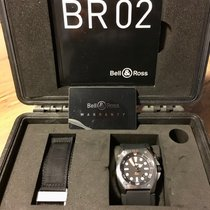 Bell & Ross BR 02 Acero 44mm Negro Sin cifras