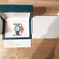 Rolex Oyster Perpetual 36 Stahl 36mm Blau Keine Ziffern Deutschland, Oberursel