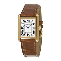Cartier Tank Louis Cartier Yellow gold 25mm White Roman numerals United States of America, New York, New York