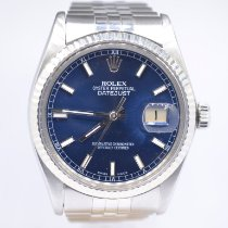 Rolex Datejust Steel 36mm Blue No numerals United Kingdom, London Colney Hertfordshire