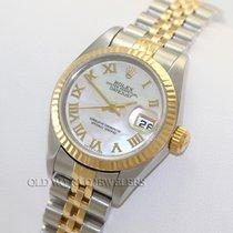 Rolex Rolex Datejust 79173 18K Steel MOP Roman Dial Acero 2003 Lady-Datejust usados