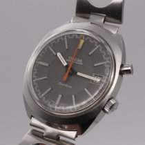 Omega Genève Steel 35mm Grey No numerals