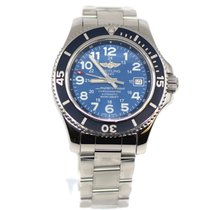 Breitling Superocean II 42 Steel 42mm Blue Arabic numerals United States of America, New York, New York