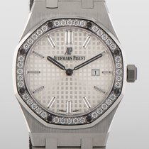 Audemars Piguet Royal Oak Lady Сталь 33mm Cеребро Без цифр