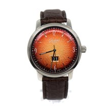 Glashütte Original Sixties Panorama Date Steel 42mm Orange Arabic numerals United States of America, New York, New York