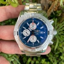 Breitling Super Avenger II Steel 48mm Blue No numerals United States of America, California, Los Angeles