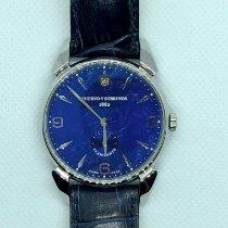 Cuervo y Sobrinos pre-owned 40mmmm Blue Sapphire crystal 3 ATM