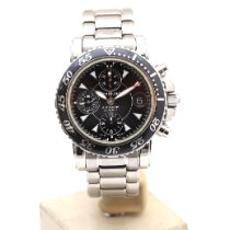 Montblanc pre-owned Automatic 41mm Black Sapphire crystal 20 ATM