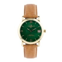 Ulysse Nardin Yellow gold Automatic Green 33mm pre-owned San Marco