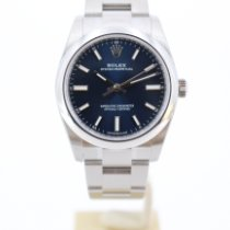 Rolex Oyster Perpetual 34 Steel 34mm Blue No numerals United Kingdom, London