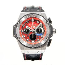 Hublot King Power Tytan 48mm Czarny Bez cyfr